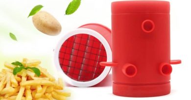 A device for cooking French fries at home
