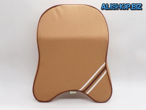 Car neck pillow with foam filler
