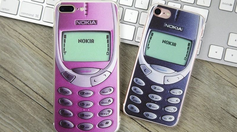 Case for iPhone in the form of objects of the 90s and 2000s years