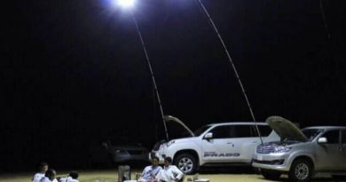 LED lighting mast
