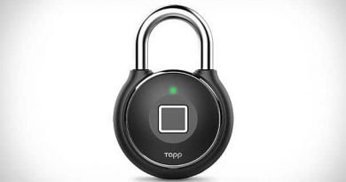 Biometric padlock Tapplock