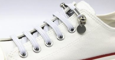 Fancy laces with snaps