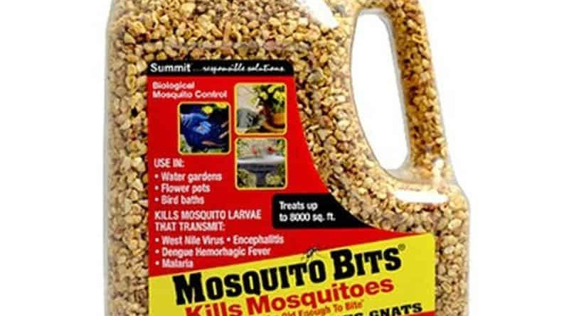 Biological insecticide for mosquito control