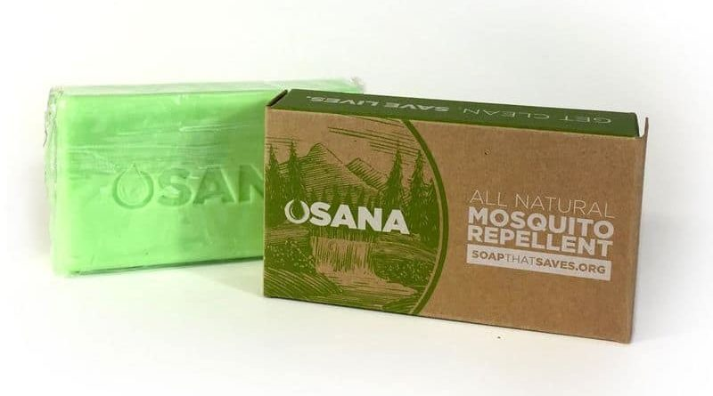Soap for protection against mosquitoes Osana
