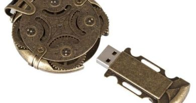 USB flash drive Cryptex with combination lock