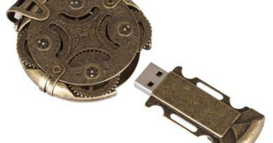 USB flash drive Cryptex with combination lock