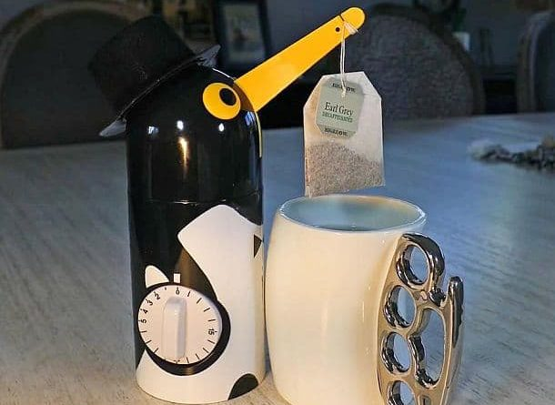 Timer for tea in Egypt
