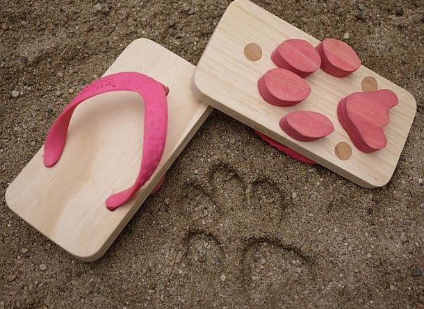 Ashiato beach sandals