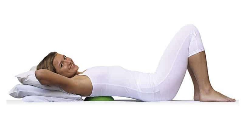 Pillow to correct posture Backpod