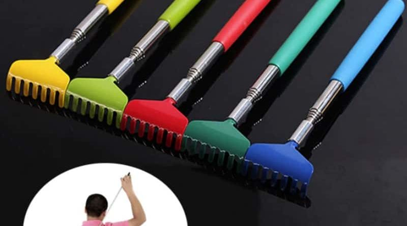 Telescopic back scratcher