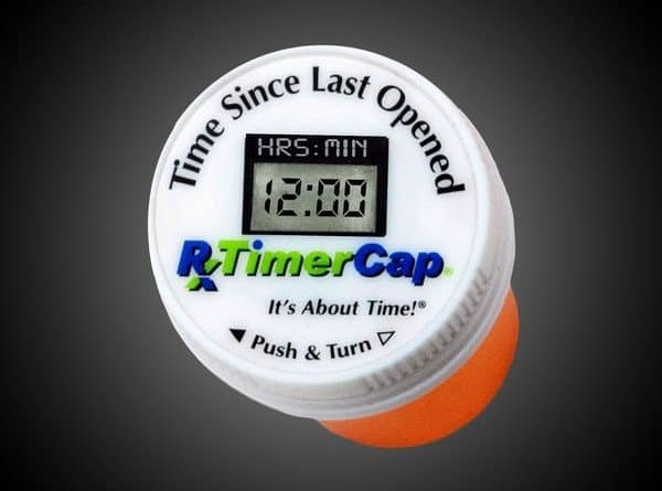 Cover with a timer TimerCap