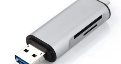 Universal card reader for smartphones and laptops