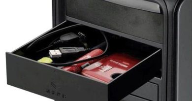 Box for storage 5-inch Bay of the PC