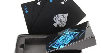 Set of playing cards in weatherproof box