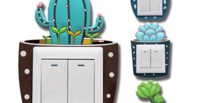 "Decorative trim on switch ""Glowing cactus"""