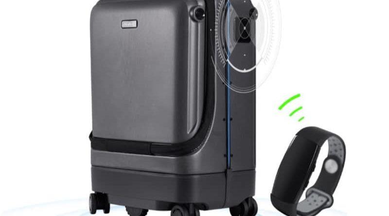 Smart suitcase-supported avtosvedenie QiangHao