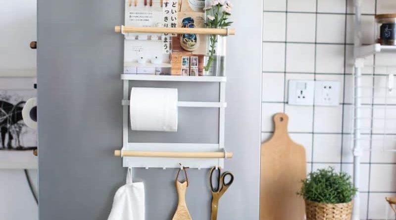 Magnetic organizer for refrigerator