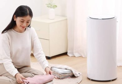 Dryer with a disinfector for clothes from Xiaomi