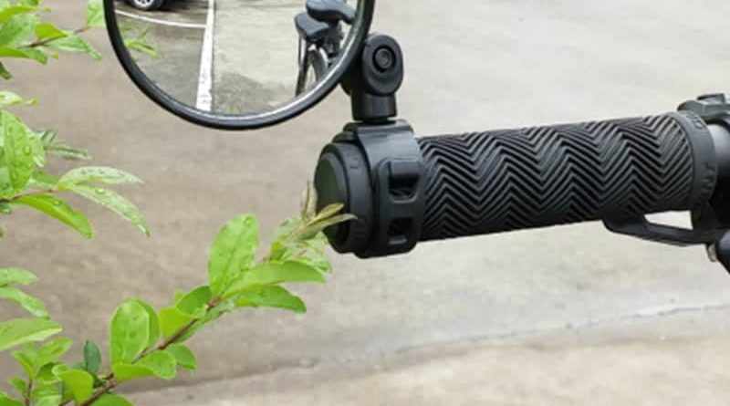 Rear view mirror for bicycles